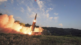 prithvi-2-missile-launched