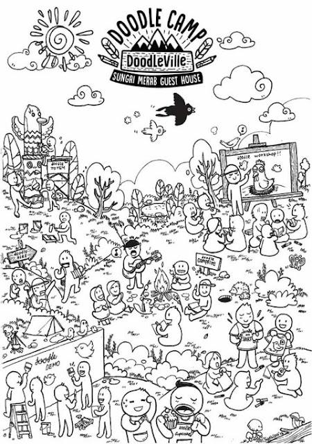 Doodle Camp at Doodleville Sg Merab Guest House