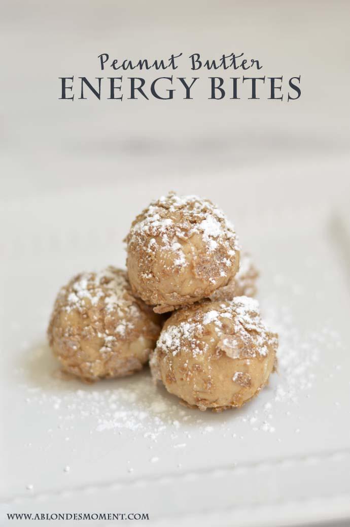 peanut butter energy bites recipe