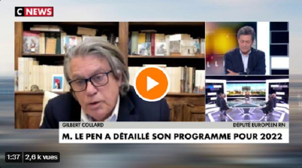 [VIDEO] Gilbert Collard : «Ras-le-bol des couilles molles !»,