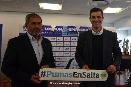 Los Pumas enfrentarán nuevamente a Sudáfrica en Salta #PersonalRugbyChampionship