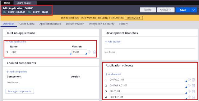 Application validation mode framework