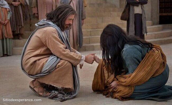 Jesús perdona a la mujer adúltera