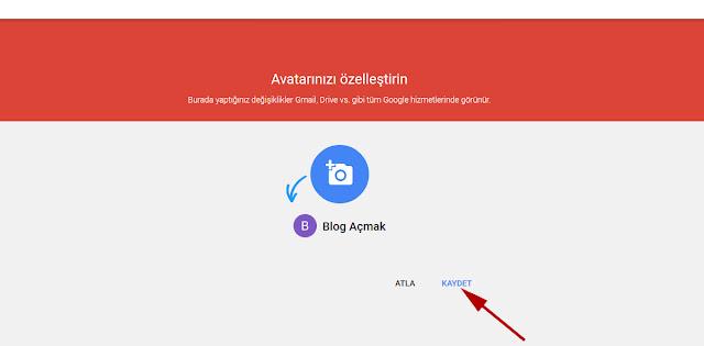 google+ profil resmi yükleyin