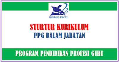 Struktur Kurikulum PPG Dalam Jabatan