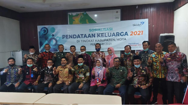 Sekda Asraf Buka Sosialisasi Pendataan Keluarga 2021 Tingkat Kabupaten Kerinci