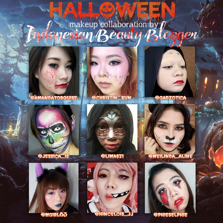 Halloween Makeup Collaboration 2016