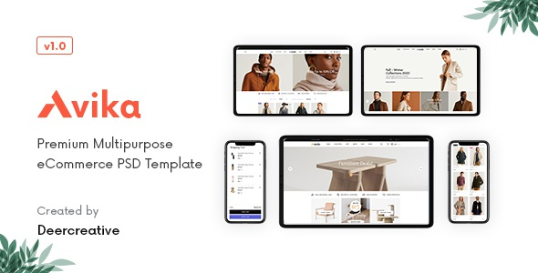 Multipurpose eCommerce PSD Template