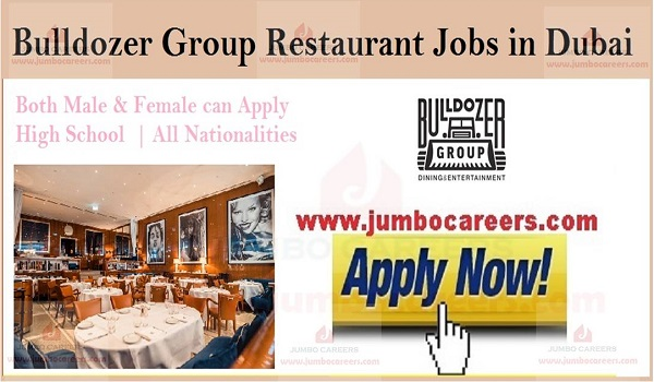Star hotel jobs in Dubai, Restaurant jobs in Gulf countries,
