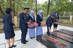 Danlanud Adi Soemarmo: Ziarah Pahlawan Sebagai Wujud Penghargaan Dan Penghormatan TNI AU