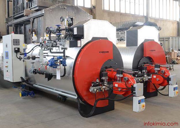 boiler dalam industri kimia