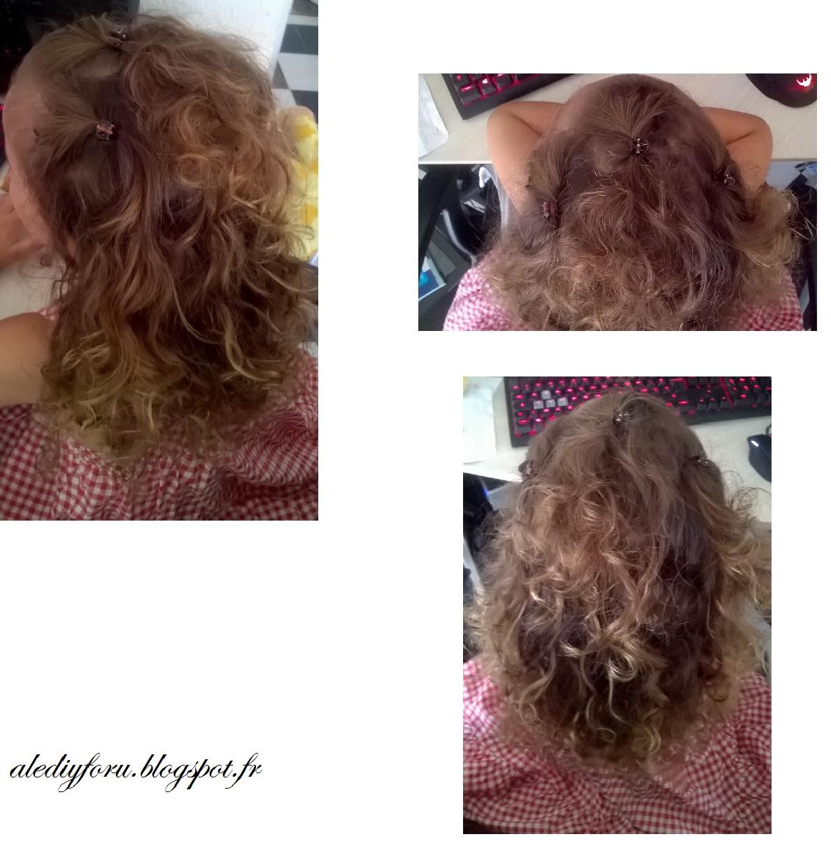 coiffure fille école
