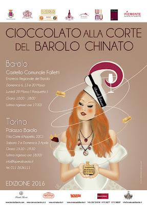 Cioccolato alla Corte del Barolo Chinato 6, 13, 20, 28 Marzo Alba (CN)