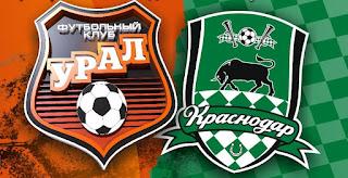 Урал – Краснодар смотреть онлайн бесплатно 1 сентября 2019 прямая трансляция в 14:00 МСК.