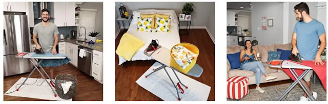 2- ironMATIK Space Saver is the Perfect Ironing Board for Every Home