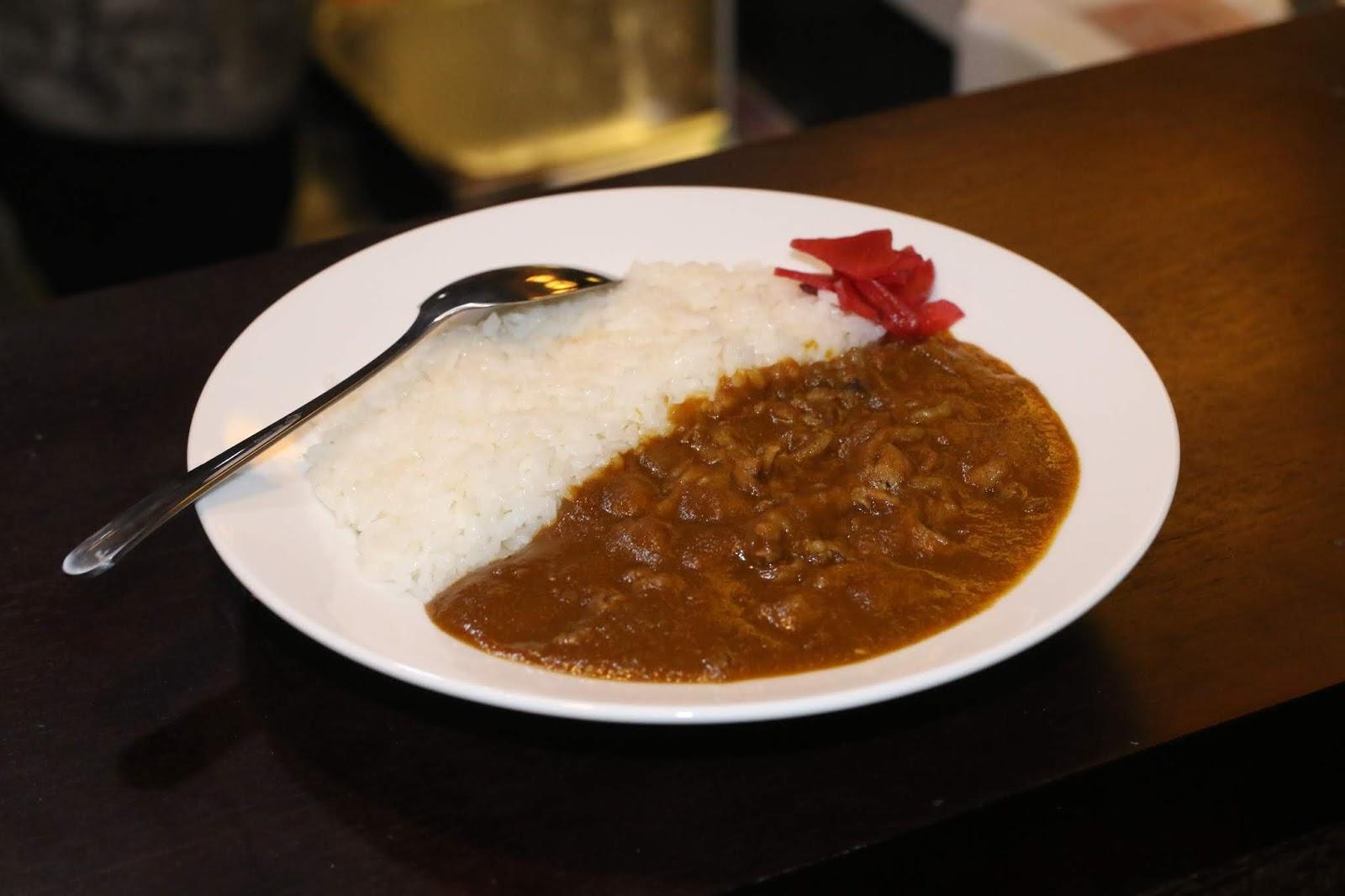 Beef curry (cơm cari bò )