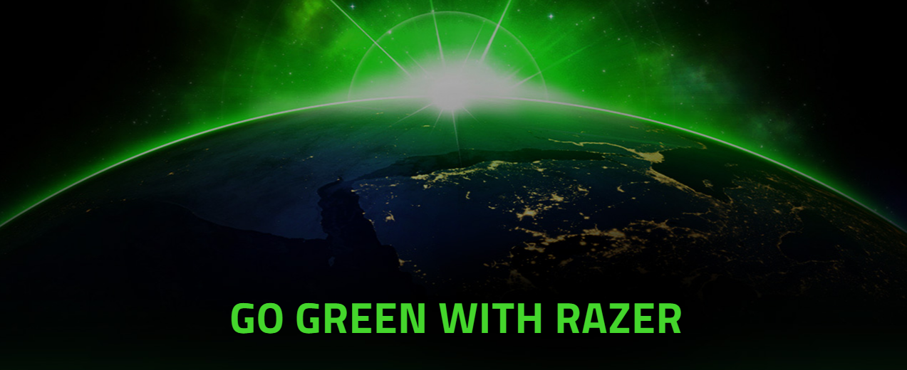 RAZER COMMITS TO A GREENER, MORE SUSTAINABLE FUTURE FOR ALL TO GAME IN #GoGreenWithRazer