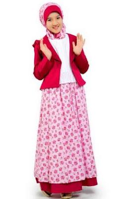 gaya baju muslim anak terbaru