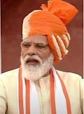 Prime Minister hoisted flag at Red Fort