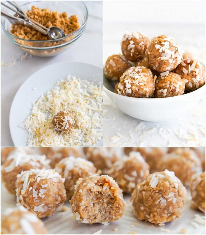 how to make coconut energy balls