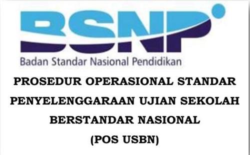 POS USBN SD SMP SMA SMK Terbaru