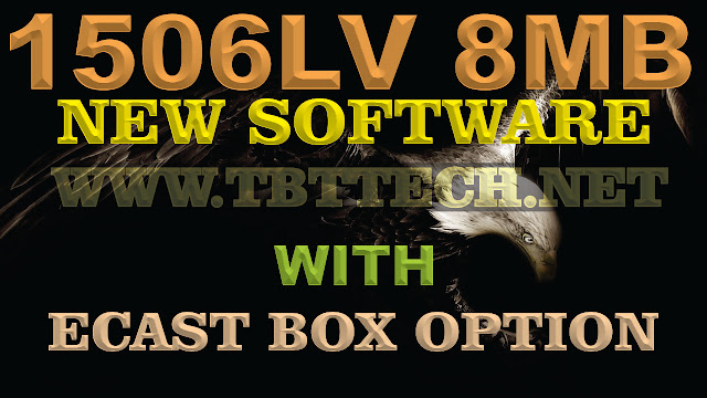1506LV 8Mb New Software With Ecast Box Option