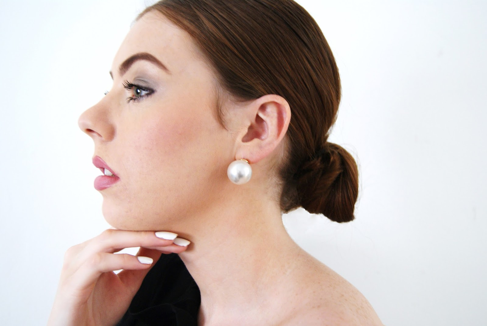 Asos Oversized Pearl Earrings