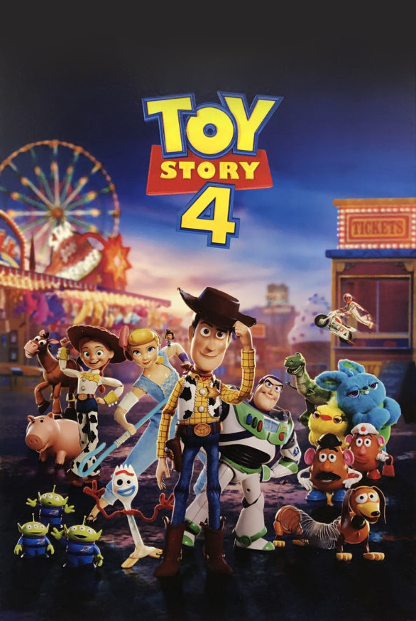 Toy Story 4 [2019] [CUSTOM HD] [DVDR] [NTSC] [Latino]