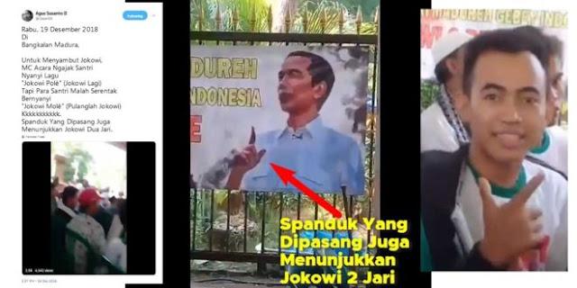 Jokowi Sulit Taklukan Madura