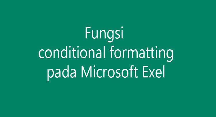 Mencari file ganda pada Microsoft exel