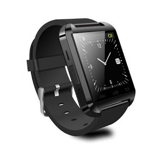 SMARTWATCH U-WATCH BLUETOOTH U8 NEGRU
