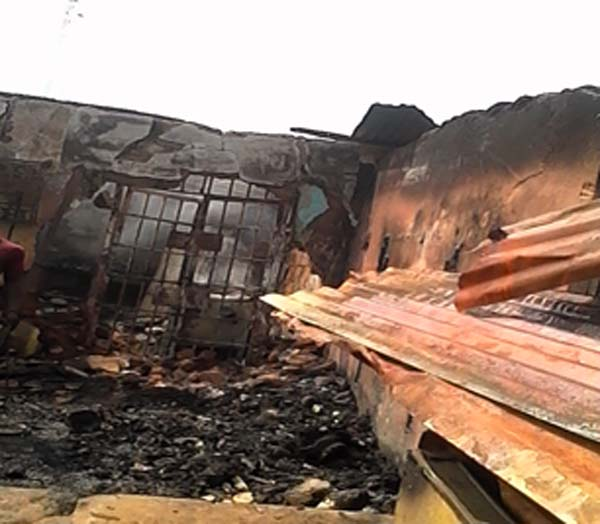 Three injured as fire razes multi-million naira Asaba market