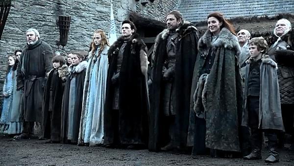 Stark Family - Game of Thrones Season 1 Episode 1