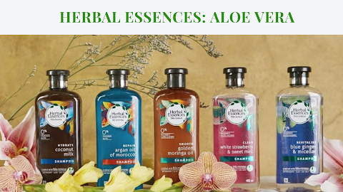 HERBAL ESSENCES: Aloe Vera, The Clean Beauty Holy Grail Reshaping Hair Care #PlantPowerInEveryShower