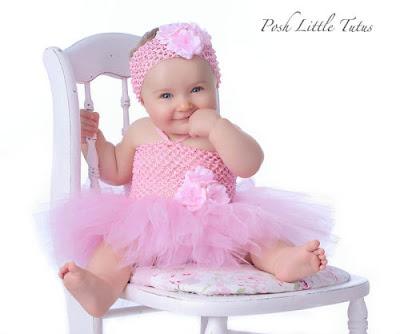d82481234ba Princess Silk Dahliain Yellow Pink Crochet Baby Dress - Virtual ...