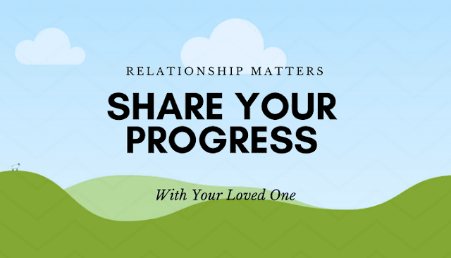 Share your progress with your family, friends & relatives - web4newbies.com