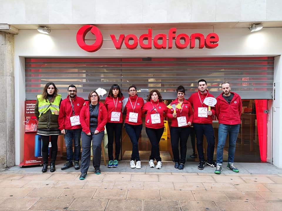 No ERE Vodafone