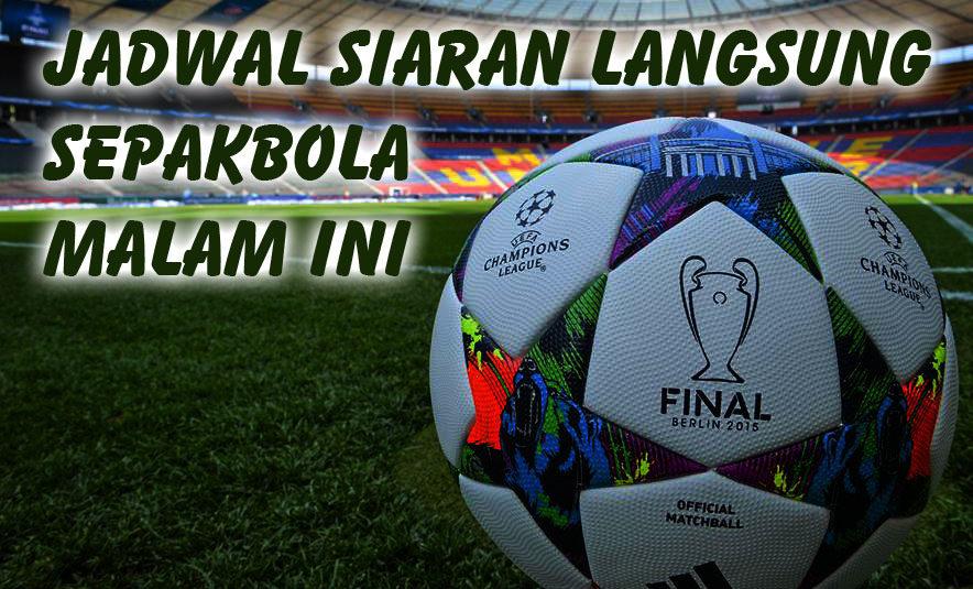 Jadwal Pertandingan Sepakbola Hari Ini, Rabu Tgl 21 - 22 Oktober 2020