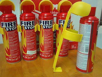 Bình chữa cháy cứu hỏa mini thực sự rất cần thiết.