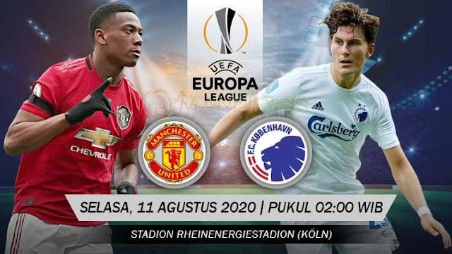 Prediksi Manchester United Vs FC Copenhagen, Selasa 11 Agustus 2020 Pukul 02.00 WIB @ SCTV