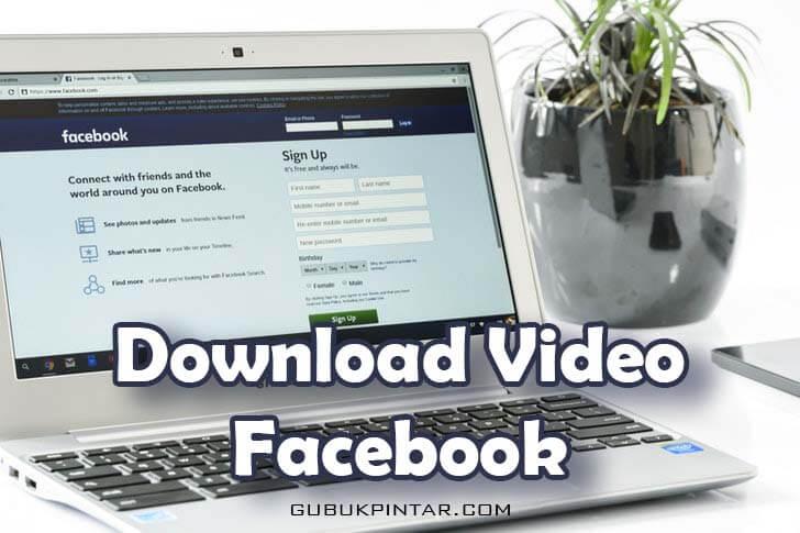 Cara Download Video Facebook Tanpa Aplikasi