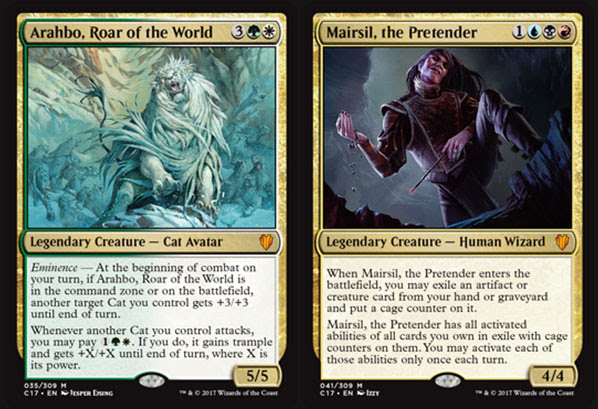 Magic the Gathering Adventures: Commander 2017 Review