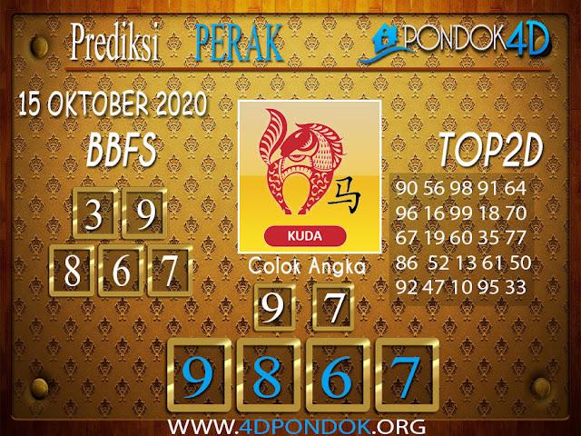 Prediksi Togel PERAK PONDOK4D 15 OKTOBER 2020