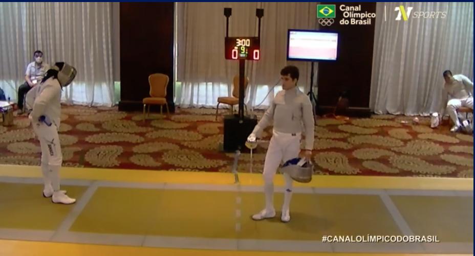 Bruno Pekelman Tóquio 2020 Pan-Americano Pré-Olímpico esgrima sabre masculino