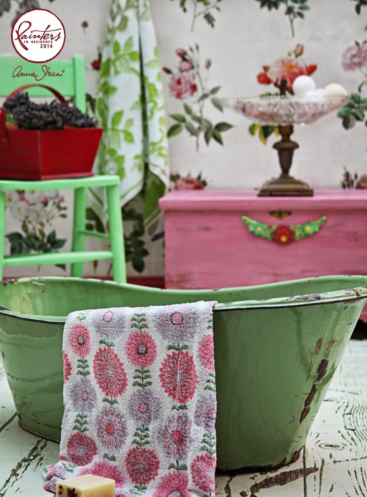 boho bathroom. Janice Issitt s Boho Bathroom Annie Sloan  Paint Colour