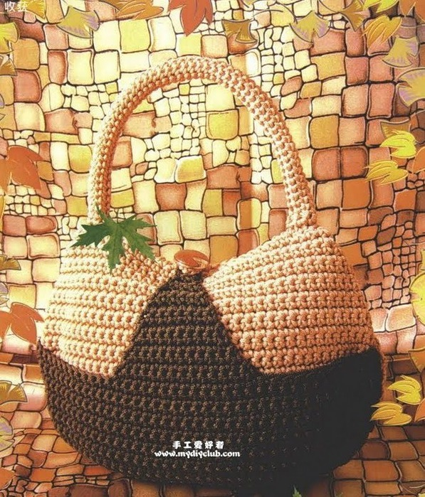Bolsas de Crochet Patrones