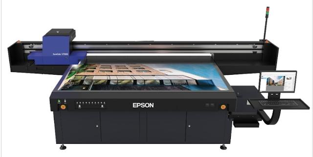 Oyun Tekrardan mı başlıyor ?  EPSON'a ait  ilk UV baskı makinesi çıktı..