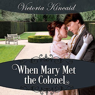 Audiobook cover: When Mary Met the Colonel by Victoria Kincaid