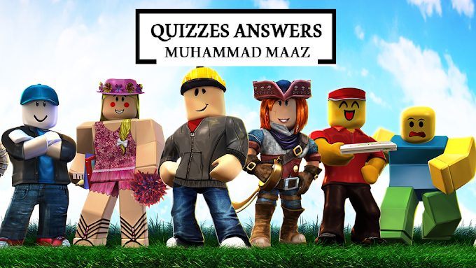 Roblox Knowledge Quiz! 20 Questions Answers
