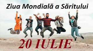 20 iulie: Ziua Mondială a Săritului